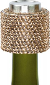 Stratton.I Reusable Decorated Champagne Bottle Sealer