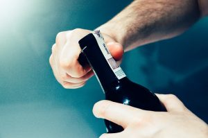 How to Open a Champagne Bottle When the Cork Is Stuck